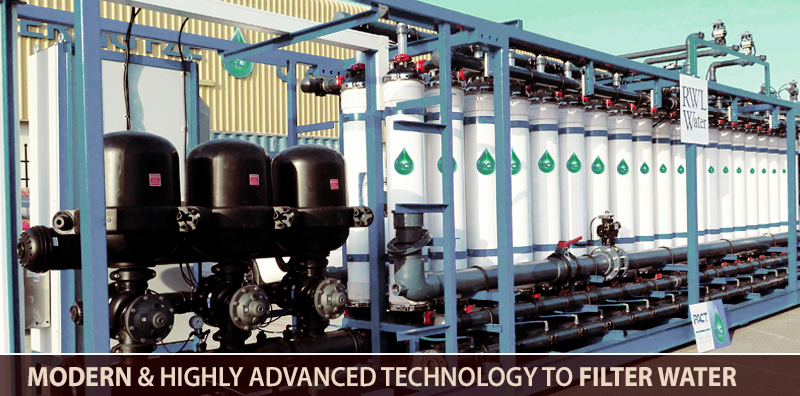 Modern And Highly Advanced Technology To Filter Water