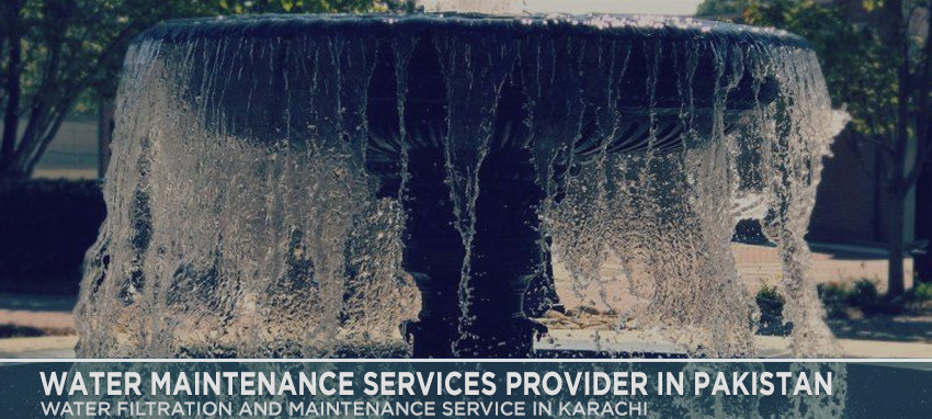 Water Maintenance Services Provider in Pakistan