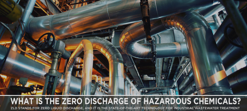 ZLD stands for Zero Liquid Discharge, and it is the state-of-the-art technology for industrial wastewater treatment